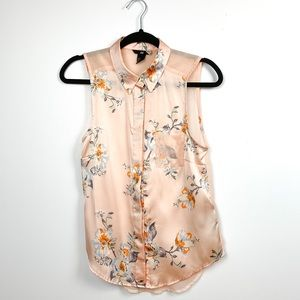 Floral H&M Light & Airy Tank Top